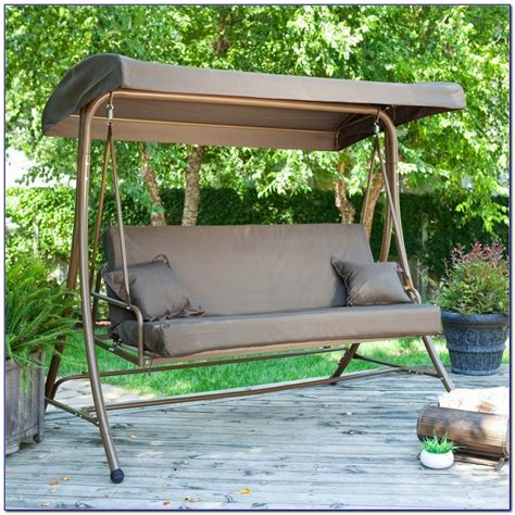 canap swing patio swings with canopy canada patios home decorating