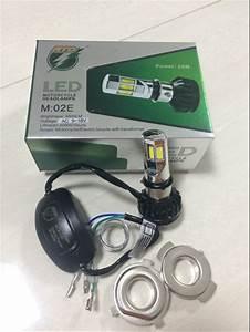 Jual Lampu Utama Led Motor Mobil Bohlam Depan 6 Sisi Rtd