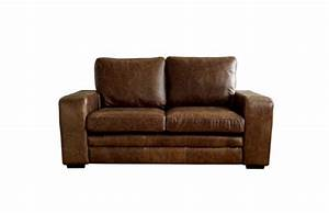 3 seater sofa bed brown modern leather sofabed leather for Denver sofa bed
