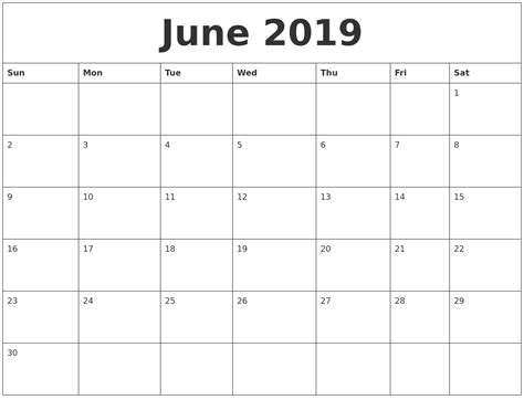 august print calendar