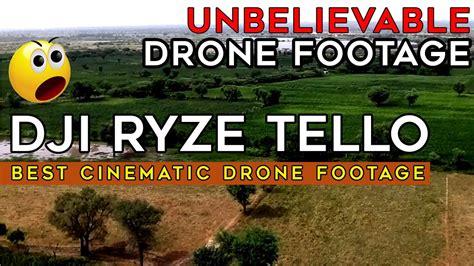 dji ryze tello  cinematic drone footage  youtube