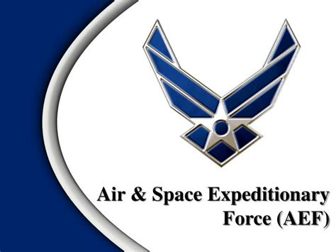air space expeditionary force aef powerpoint