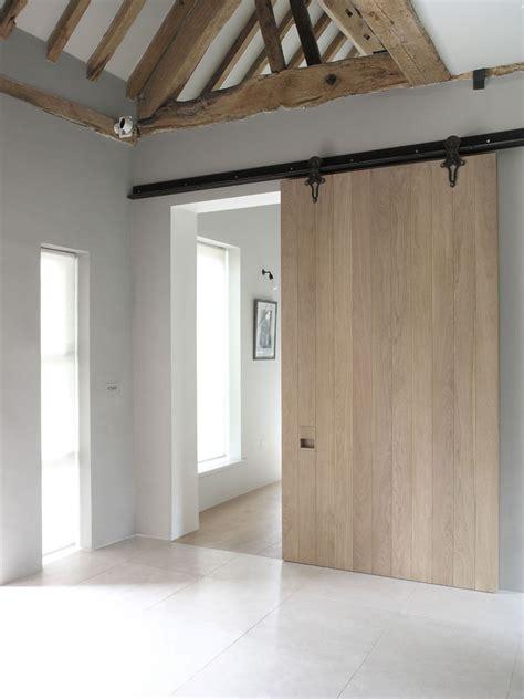 modern barn doors 10 exles of barn doors in contemporary kitchens