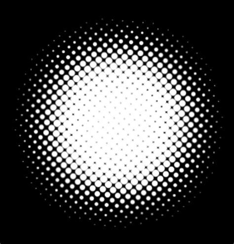 trik membuat efek halftone putih background hitam negatif