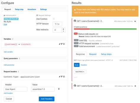testing api header agent user swagger apis rest test failure example above xoriant