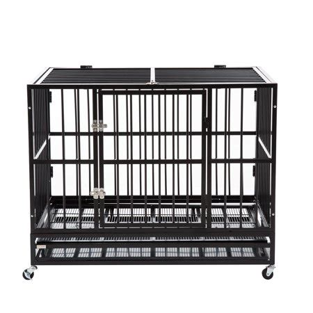 heavy duty dog cage crate kennel metal pet playpen