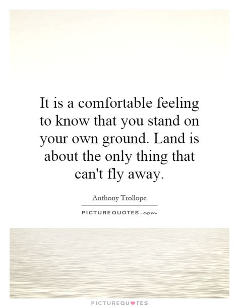 Standing On Own Feet Quotes