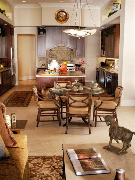 great room  casual dining room  kitchen hgtv