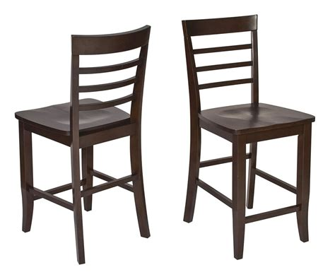3 pc set espresso wood bar bistro square pub table 2 pub
