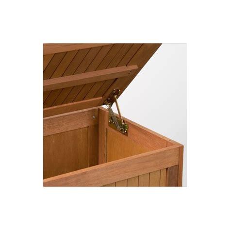 balance professionnelle cuisine banc coffre de rangement jardin extérieur en bois avec coussin