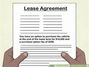 How to Lease a Car with the Option to Buy (with Pictures)