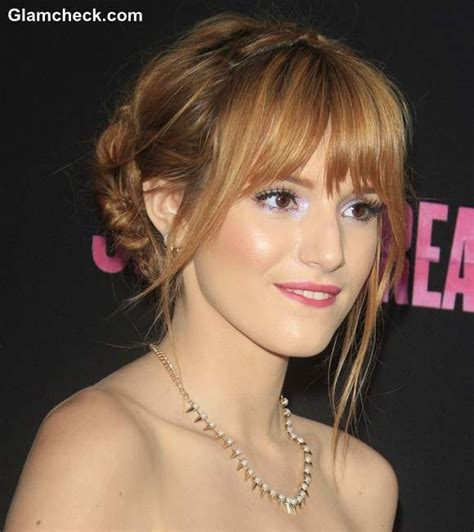 doube braided updo bella thorne hairstyle beauty in 2019