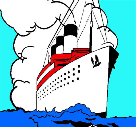 Dibujo Barco Titanic Para Colorear by El Titanic Para Dibujar Imagui