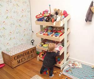 Rangement Chambre Enfants : un meuble de marchande pour ranger les jouets de mathilde ~ Melissatoandfro.com Idées de Décoration