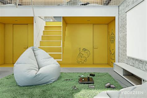 A Friendly Apartment Design With Lots Of Playful Features by A Friendly Apartment Design With Lots Of Playful Features