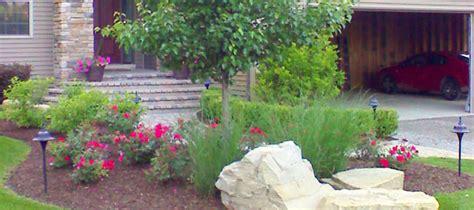 home landscape design installation garden  backyard