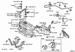 2001 Toyota Highlander Bumper Parts Diagram