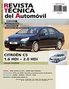 Manual De Taller Y Mecanica Citroen Citroen C5 1 6 Y 2 0 Hdi