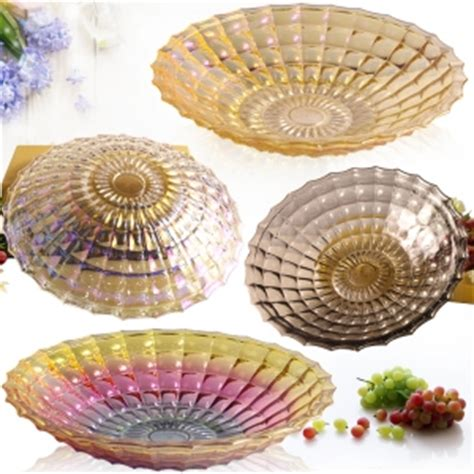 gold mercury glass compote sales mercury glass plate and electroplating glass