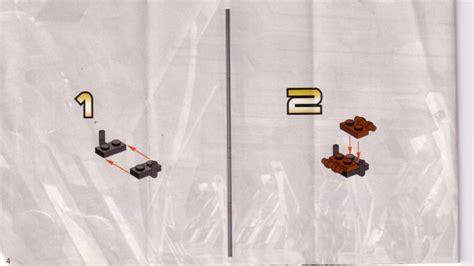 Lego Jedi Defense I Instructions 7203, Star Wars Episode 1