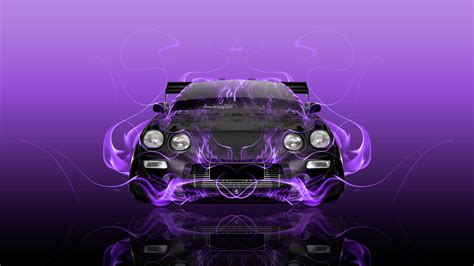 toyota celica jdm tuning front fire abstract car