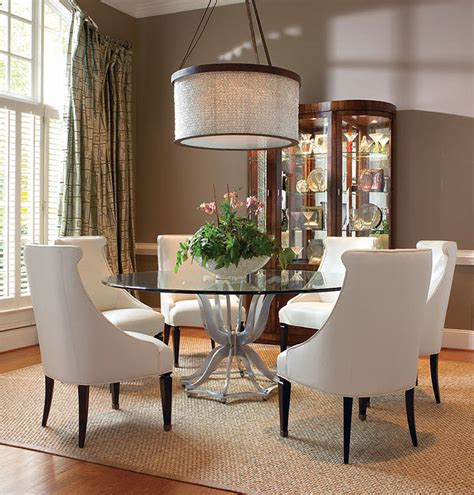 Glass Dining Room Sets 55a 307 Metal Base Dining Table With Glass Top