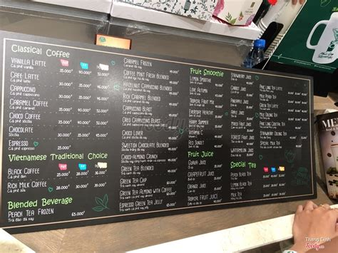 Boba milk tea/flavored ice tea/shake/smoothie/lavazza coffee/cake/bread/waffles/fresh juice. Phúc Long Coffee & Tea House - TTTM Takashimaya ở TP. HCM | Album thực đơn | Phúc Long Coffee ...