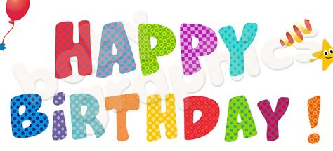 happy birthday letters levelings