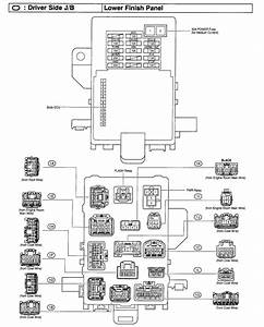 2004 Toyota 4runner Fuse Box Diagram