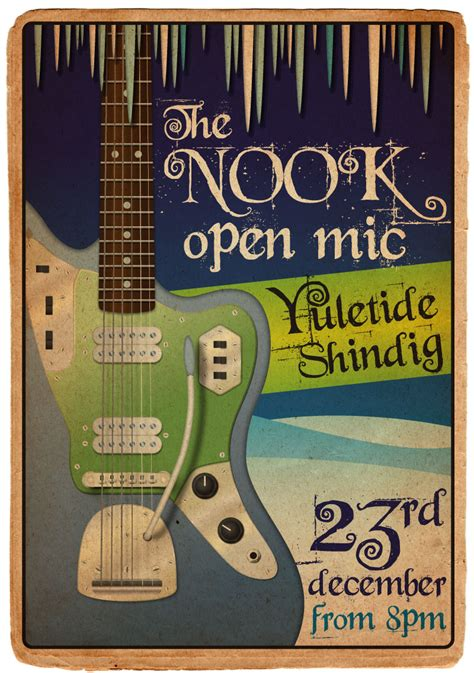 foto de The Nook Open Mic Poster: Christmas Special Owen