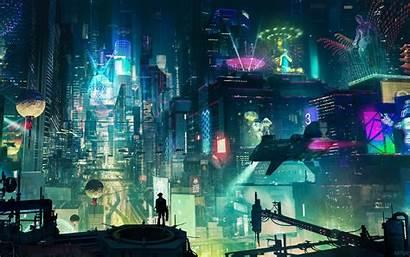 Cyberpunk Wallpapers 4k Digital Artwork Backgrounds Artstation