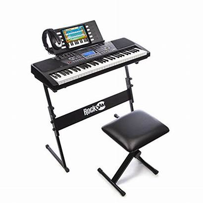 Keyboard Stand Stool Piano Rockjam Electronic Includes