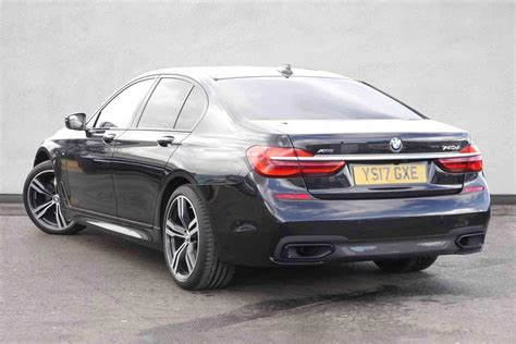 Used 2017 Bmw 7 Series 740d Xdrive M Sport 4dr Auto For