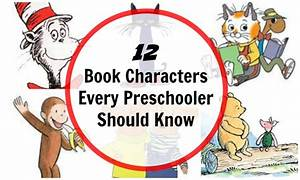 12 Book Characters for Preschool Children - Planet Smarty ...