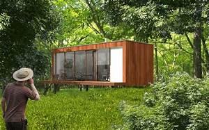 Micro Maison Prfabrique Cologique Contemporaine