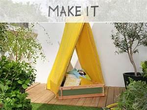 beautiful ralis partir duun carr potager vous allez With decoration d un petit jardin 6 fabriquer un lit cabane pour les petits loulous