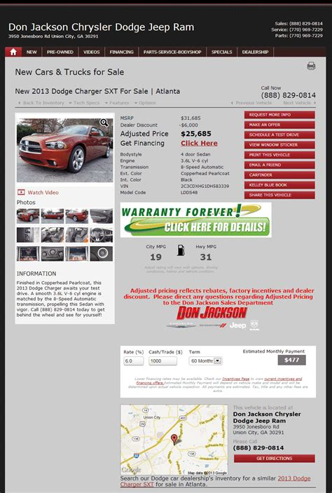 2013 Dodge Charger Real Dealer Prices   Free   CostHelper.com