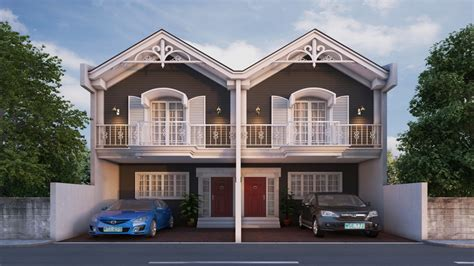 Duplex House Design Zen Duplex House Design Philippines