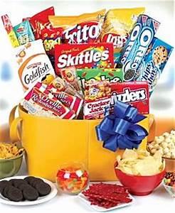 Junk Food Gift Basket the Snack Gift Basket Guilty Pleasure