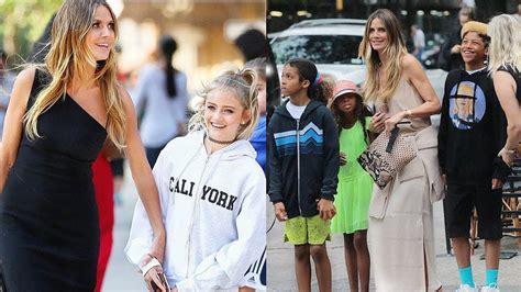 Heidi Klum Daughters Sons Youtube