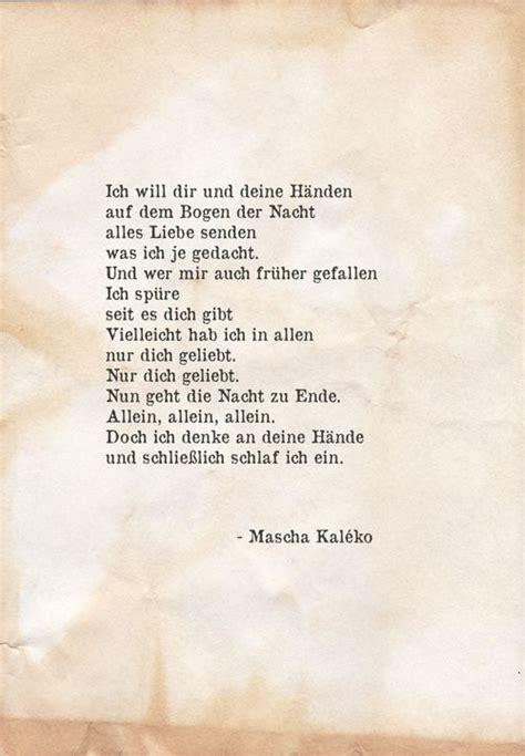 mascha kaleko rilke zitate gedichte und sprueche und