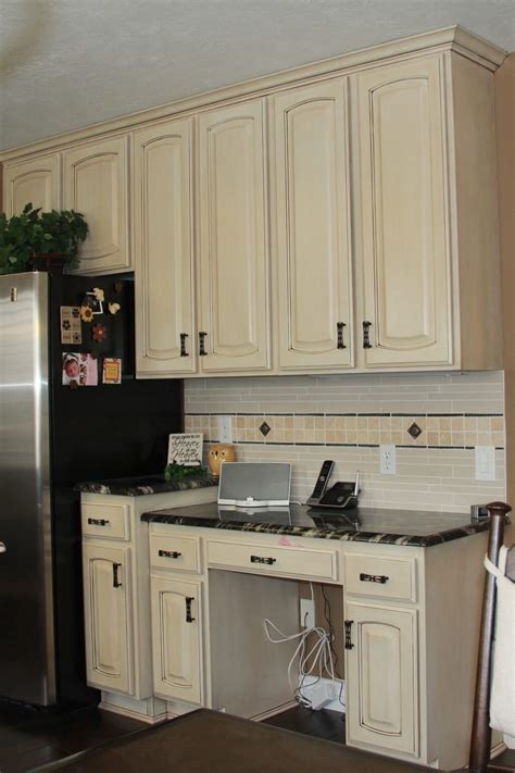 white kitchen hutch cabinet off white kitchen cabinets with antique brown granite