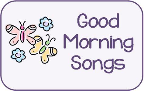 the preschool procrastinator morning songs 245 | good am songs