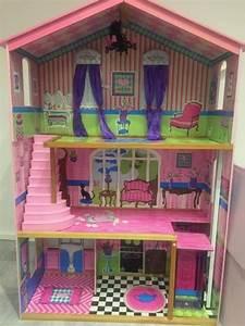 Barbiehaus Aus Holz : puppenhaus zusammenklappbar holz ~ Orissabook.com Haus und Dekorationen