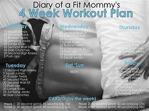 Diary Of A Fit Mommy4 Week No