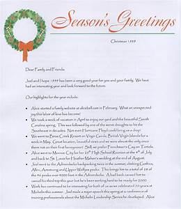 1999 christmas letters With christmas letter pictures