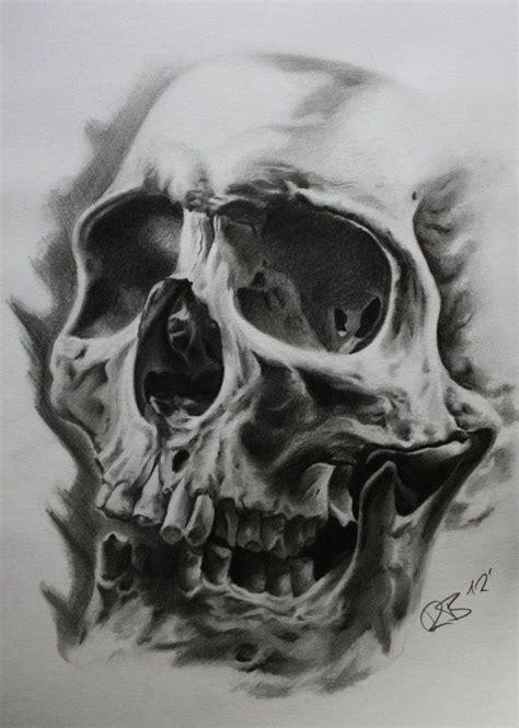 Skull Tattoo Drawing Craft Ideas