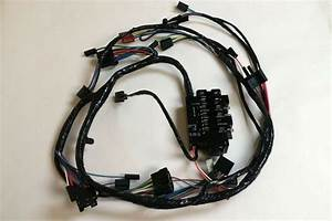 1966 Chevy Pick Up Truck Under Dash Wiring Harness With Gauges At Mt