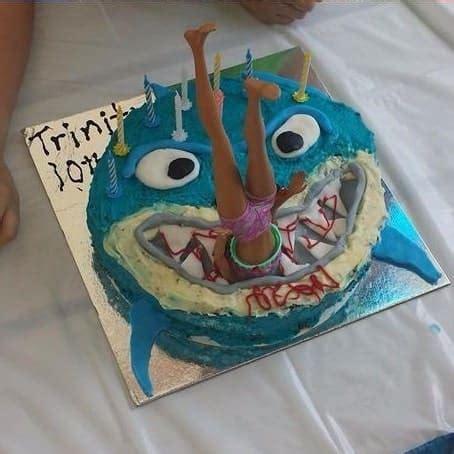 sharky cake kit boys birthday cake recipe kit diy
