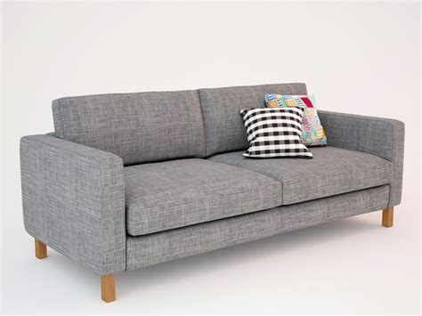 Modern Tufted Sofa Design With Ikea Karlstad